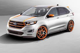 Ford Escape Upgrades - three custom ford edge concepts bound for sema