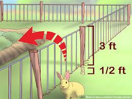 rabbit garden 3 ways to a rabbit friendly garden wikihow