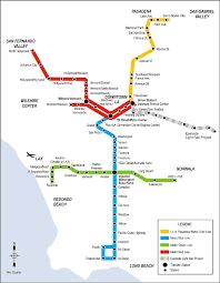 Ethnic Map Of Los Angeles by The Light Rail Conundrum From Los Angeles To Atlanta Lrt In The