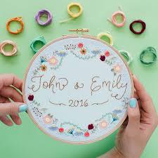 wedding gift knitting patterns best 25 wedding embroidery ideas on diy initials
