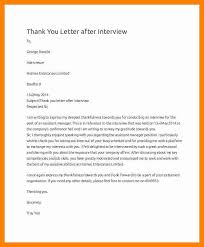 6 sample thank you letter for interview sap appeal