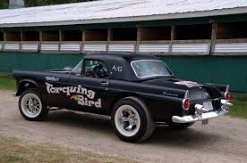 caddy powered 1955 t bird gasser rod network