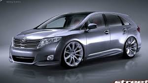 toyota inc toyota venza project car set for sema