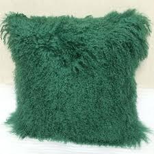 Mongolian Lamb Cushion Tibet Sheepskin Pillow Tibet Sheepskin Pillow Suppliers And