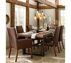 Wood Dining Room Chic Rustic Dining Room With Vaulted Ceiling Accented With Wood