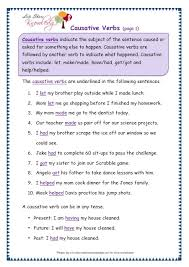 grade 3 grammar topic 41 causative verbs worksheets lets share