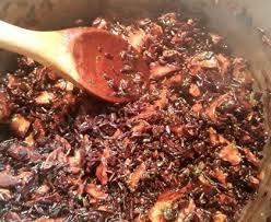 comment cuisiner les bolets riz noir aux bolets recette de riz noir aux bolets marmiton