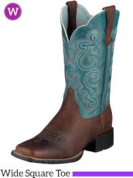 s quickdraw boots wide square toe brown rowdy 10004720