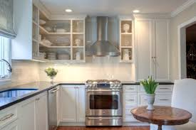 white shaker cabinets transitional kitchen allison harper