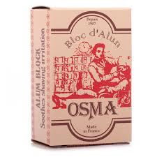 alum block osma alum block irritation products