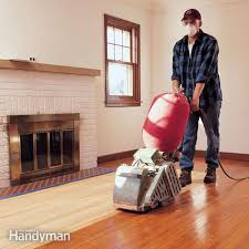 hardwood floors refinishing installing the family handyman