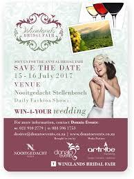 bridal websites winelands bridal fair donato events