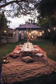 honey and fizz how to host a bohemian dinner party outdoor fun