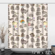 Custom Bathroom Shower Curtains Lovely Cats Bathroom Shower Curtain Custom Shower