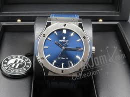 blue titanium bracelet hublot images For sale hublot classic fusion blue titanium product butik jpg