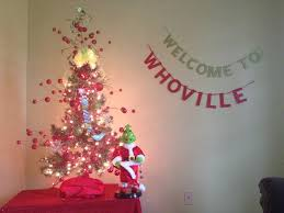 welcome to whoville christmas glitter banner glambanners
