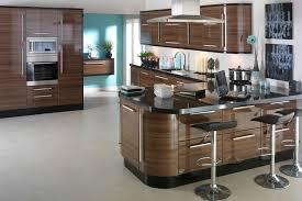Walnut Kitchen Designs Apollo Walnut Gloss Replacement Kitchen Design Ipc403 High Gloss