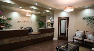 logo option textured front desk nice wall color office