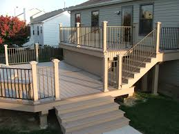 aluminum deck railing systems covering u2014 railing stairs and
