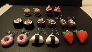food earrings food earrings by silent on deviantart