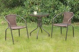 3 Piece Patio Dining Set - 3 pcs outdoor set outdoor dining set outdoor furniture