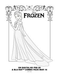 104 coloring pages lineart disney frozen images