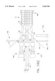 patent us5465760 multi layer three dimensional fabric and method