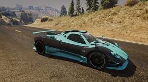 pagani gta 5 paint release zonda ee skin gta5 mods com forums