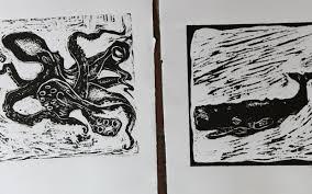 block prints industrious diversion