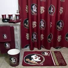 Ohio State Curtains Ohio State Shower Curtain With Rug And Drawers And Towel