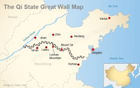 great wall maps u2014 where the great wall is and was