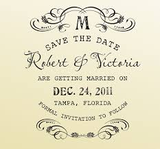 Save The Date Stamps Creating A Handmade Style U0027save The Date U0027 For The Uncrafty Bride