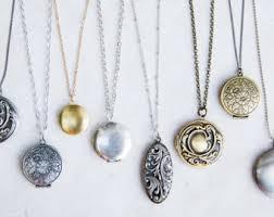 locket necklace with photo images Locket necklace etsy jpg