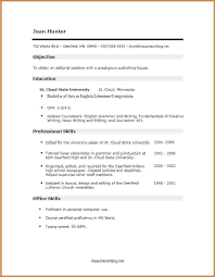 Resume Templates For Administrative Assistants Skills Based Resume Template Administrative Assistant U2013 Inssite