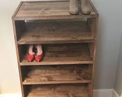 shoe cabinet etsy