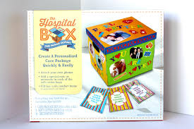 cheer up care package cheer up a loved one with a personalized hospital box