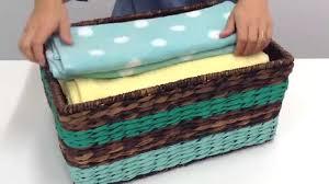 how to clean wicker baskets plain to pretty diy painted basket u2013 woman u0027s day youtube