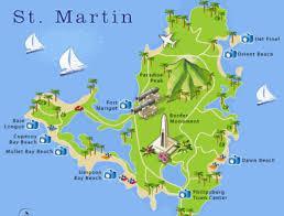 map of st martin st maarten st martin information cheapcaribbean com