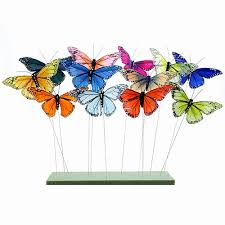 butterfly gifts decorative and colorful butterflies on wire robyn nola gifts