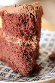 my happy place buttermilk red velvet cake with chocolate fudge