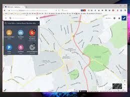 Navigation Map Here Maps Web App Chip