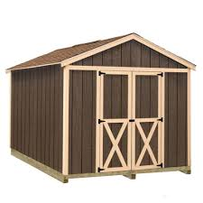 Outdoor Shed Kits by Best Barns Wood Sheds Sheds The Home Depot