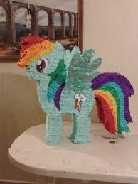 my pony pinata piñatas my pony rainbow dash caricaturas 359 00 en