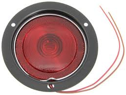 flush mount trailer lights compare red trailer light vs peterson round etrailer com