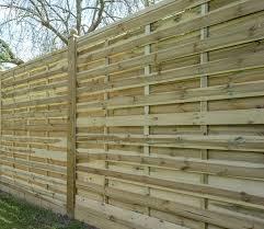 Types Of Garden Fences - garden fencing panels timber fence panels edinburgh online