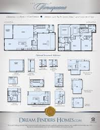 Eagle Homes Floor Plans by Timuquana Dream Finders Homes