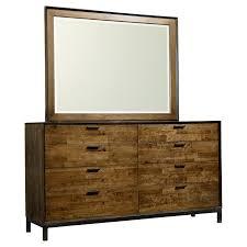 Mirror Dresser Furniture Of America Revlin I Transitional 7 Drawer Dresser With