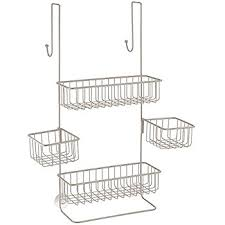 Bathroom Shower Accessories by Amazon Com Zenna Home 7803ss Over The Shower Door Caddy Chrome