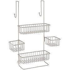 amazon com interdesign metalo adjustable over door shower caddy