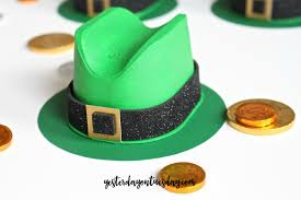 leprechaun candy hats yesterday on tuesday